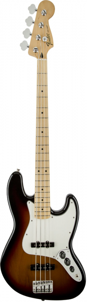 Fender Standard Jazz Bass Maple Fingerboard Brown Sunburst